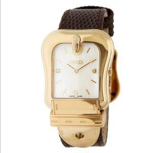 Fendi B. Diamond Accented Watch - 0.01 Ctw